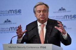 Syrie: Guterres