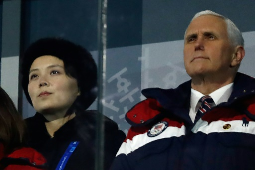 Les Nord-Coréens ont annulé une rencontre avec Mike Pence à Pyeongchang