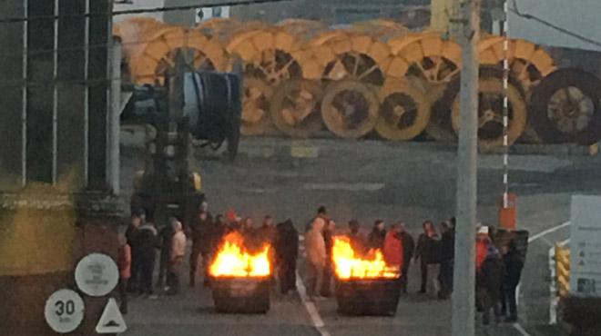 Grève chez Nexans à Charleroi: