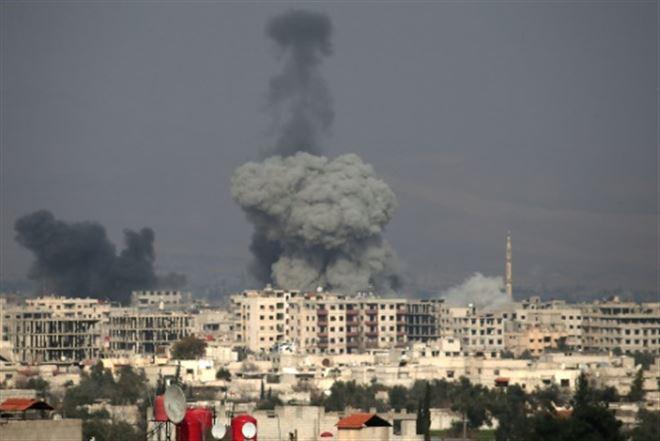 Syrie- quatrième jour de raids meurtriers sur un fief rebelle près de Damas