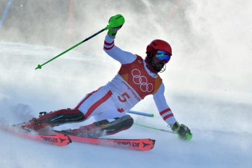 JO-2018: pas de triplé en slalom pour Marcel Hirscher