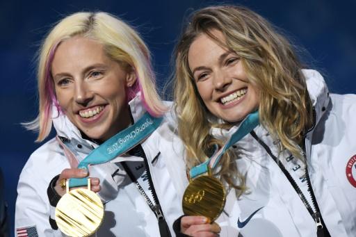 JO-2018: l'Américaine Randall, championne olympique de ski de fond, entre au CIO