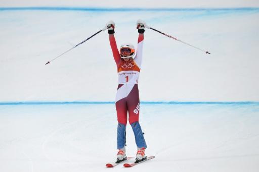 JO-2018: Gisin vole la vedette à Shiffrin et Vonn en combiné alpin
