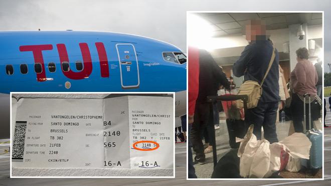 Eric de Huy est bloqué à l'aéroport en République Dominicaine depuis mercredi: