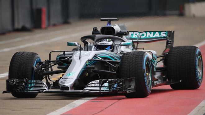 Formule 1 : Mercedes dévoile sa nouvelle monoplace, la W09 Hybrid