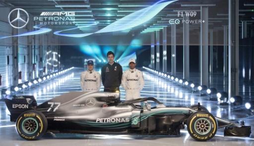 F1: Mercedes dévoile sa nouvelle monoplace et tacle encore le halo