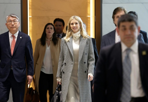 JO-2018: Ivanka Trump en Corée du Sud pour la clôture des jeux Olympiques