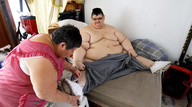 Juan Pedro Franco, ancien homme le plus gros au monde, a perdu près de 250 kilos et dévoile ce dont il rêve