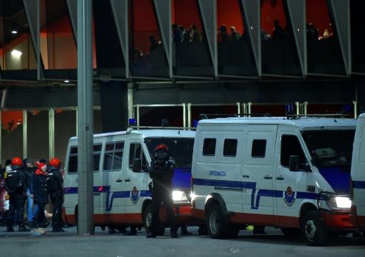 Violences entre supporters de foot: 4 blessés et 9 arrêtés à Bilbao