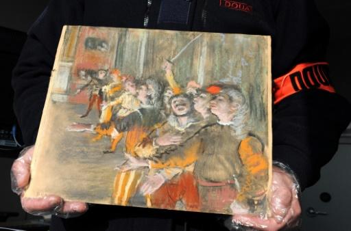 Volé en 2009 à Marseille, un tableau de Degas retrouvé dans un autocar en Seine-et-Marne