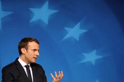 Macron lancera les consultations sur l'Europe mi-avril à Strasbourg