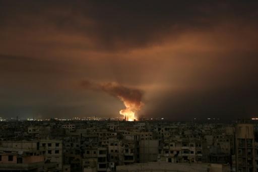 Bombardements sans répit dans le fief rebelle de la Ghouta, 3 civils tués