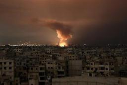 Conflit en Syrie - Bombardements sans répit dans le fief rebelle de la Ghouta, 3 civils tués