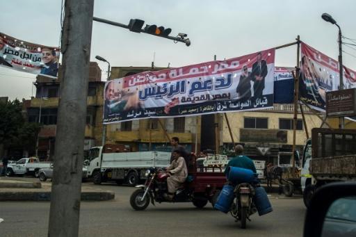 Campagne présidentielle terne en Egypte, Sissi assuré de l'emporter