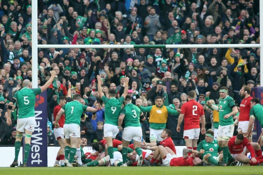 L'Irlande a montré les crocs face au Pays de Galles — Six Nations