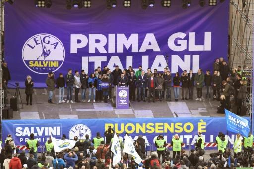 Italie: série de manifestations d'extrême droite ou antifascistes