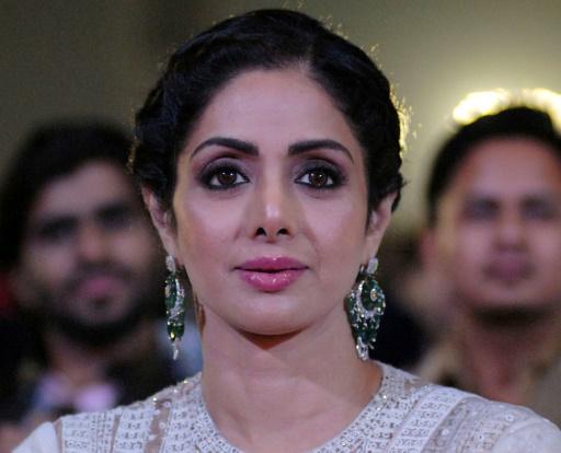 Cinéma indien: décès de la star de Bollywood Sridevi