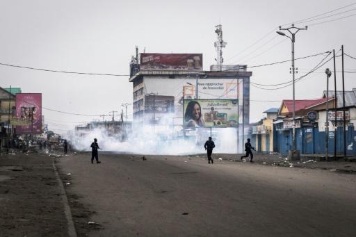Marche en RDC: dispersion à balles réelles à Kisangani