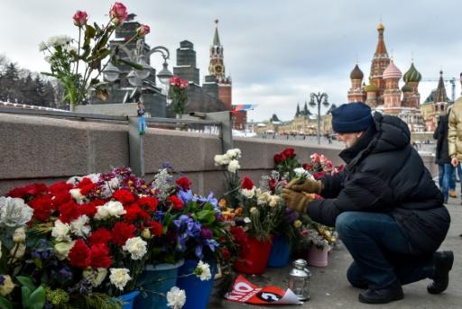 L'opposition russe rend hommage à Nemtsov, trois ans après son assassinat à Moscou