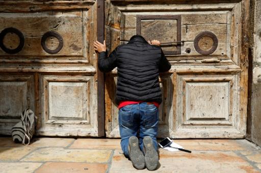 A Jérusalem, l'église du Saint-Sépulcre toujours fermée