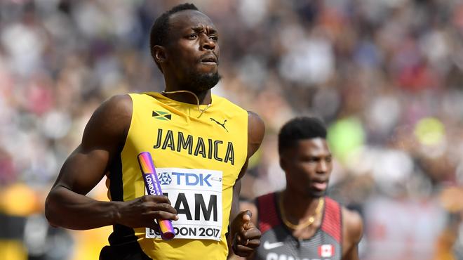 Usain Bolt dit s'être entendu avec une équipe de soccer