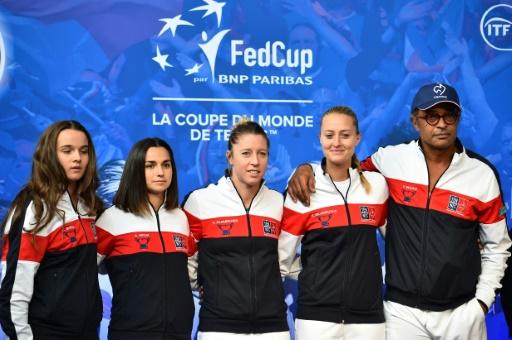 Fed Cup: la demi-finale France - Etats-Unis à Aix-en-Provence