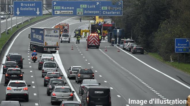Le trafic est fortement perturbé pour rejoindre Bruxelles