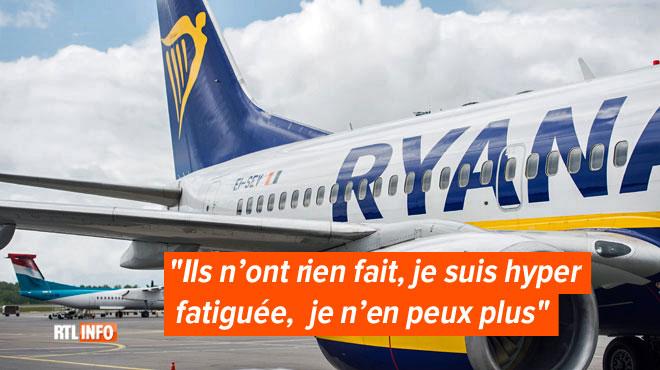 Enceinte, Sabrina devait revenir de Rome avec un vol Ryanair, mais rien ne s'est passé comme prévu: