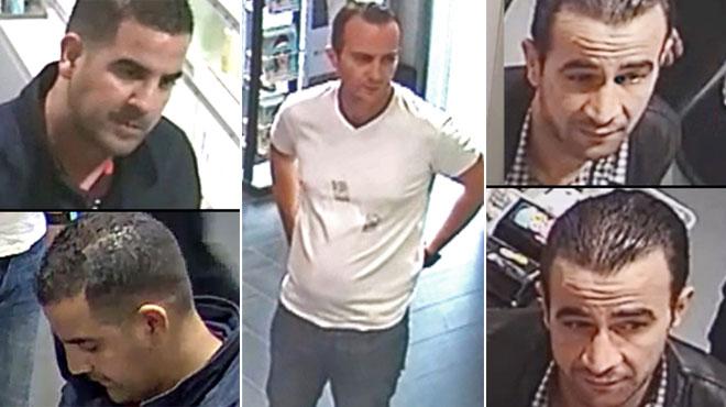 Reconnaissez-vous ces hommes? Ils ont volé les cartes bancaires d'un couple et dilapidé l'argent (vidéo)