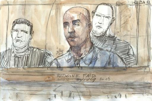 Policière tuée en 2010: le procès en appel du caïd Redoine Faïd s'ouvre à Paris