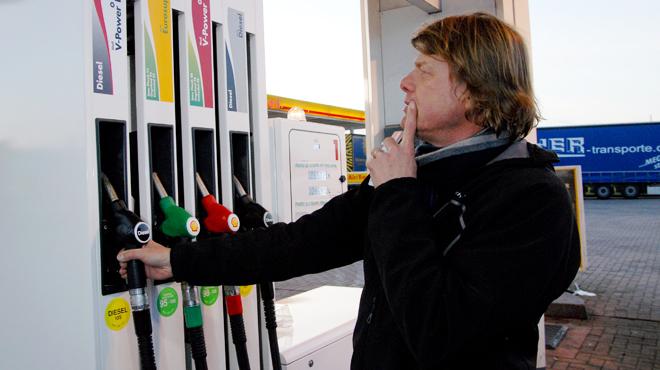 Le diesel est parfois plus cher que l'essence en Belgique
