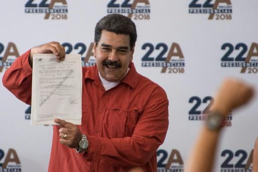 Venezuela: Maduro officiellement candidat à la présidentielle