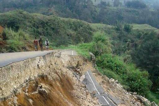 Séisme en Papouasie: l'évaluation de la situation très compliquée