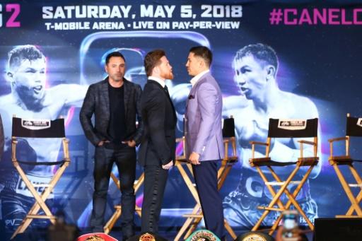 Boxe: Golovkin et Alvarez promettent un combat d'anthologie le 5 mai