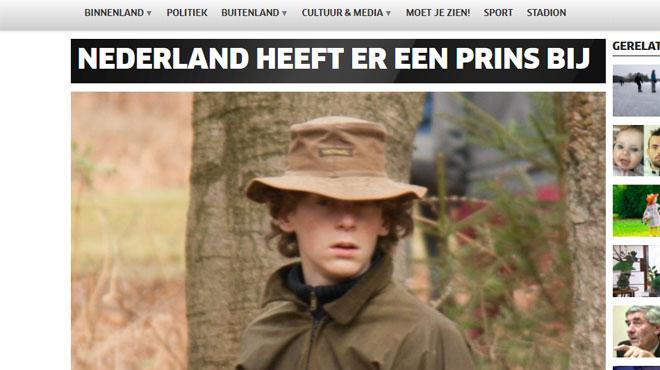 Fils illégitime du cousin du roi des Pays-Bas et rejeté par son père, Hugo, 21 ans, a enfin le droit de se faire appeler prince