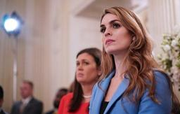Hope Hicks, directrice de la communication de Trump, démissionne