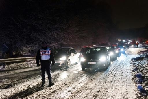 Froid: peu de perturbations dans les transports et sur les routes franciliennes