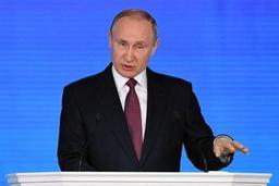 Russie: Vladimir Poutine promet d'améliorer le niveau de vie des Russes