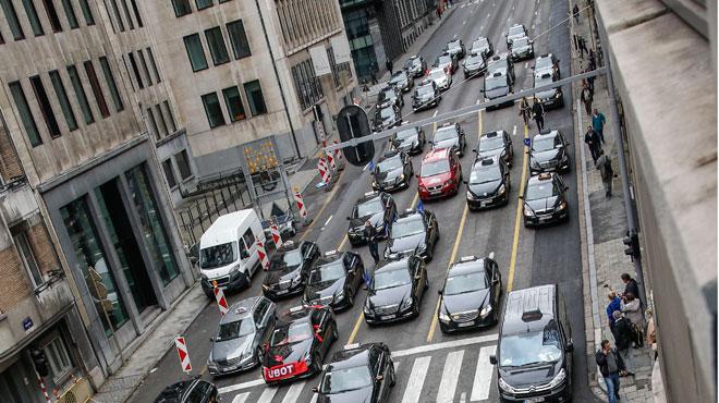 Vous rencontrez des difficultés pour quitter Bruxelles à l'heure de pointe? Des travaux sont en cause