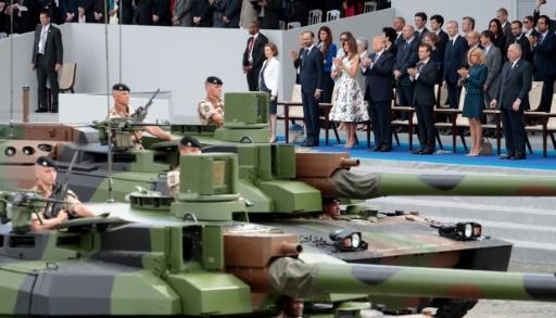 USA: un défilé militaire