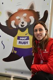 Mondiaux d'athlétisme en salle - Eline Berings en quête d'une 5e demi-finale mondiale en salle