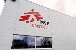 MSF déploie son unité de chirurgie mobile pour blessés de guerre au cœur de Bruxelles