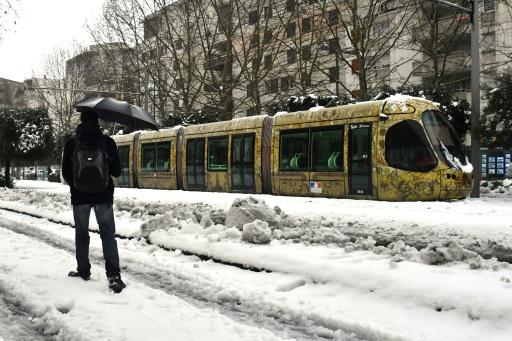 Neige: retour à la normale à Montpellier