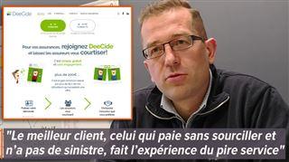 Antoine et Gilles veulent dépoussiérer les assurances avec leur site internet Deecide- Aidons les clients à se réveiller!