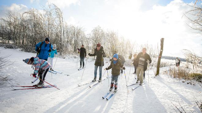 La couche de neige varie de 10 à 20 cm: onze centres de ski ouverts ce week-end