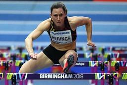 Mondiaux d'athlétisme en salle - Eline Berings éliminée en demi-finales du 60 m haies