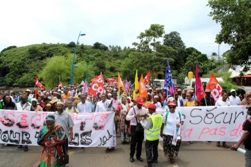 Mayotte: les mairies fermées à partir de lundi pour protester contre l'insécurité