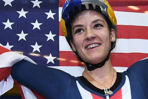 Mondiaux de cyclisme sur piste: titre et record pour Dygert en poursuite