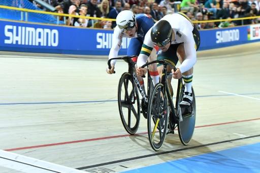 Mondiaux de cyclisme sur piste: l'Australien Glaetzer en or en vitesse individuelle