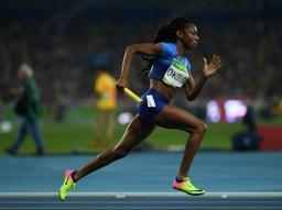 Mondiaux d'athlétisme en salle - Doublé américain sur 400m dames